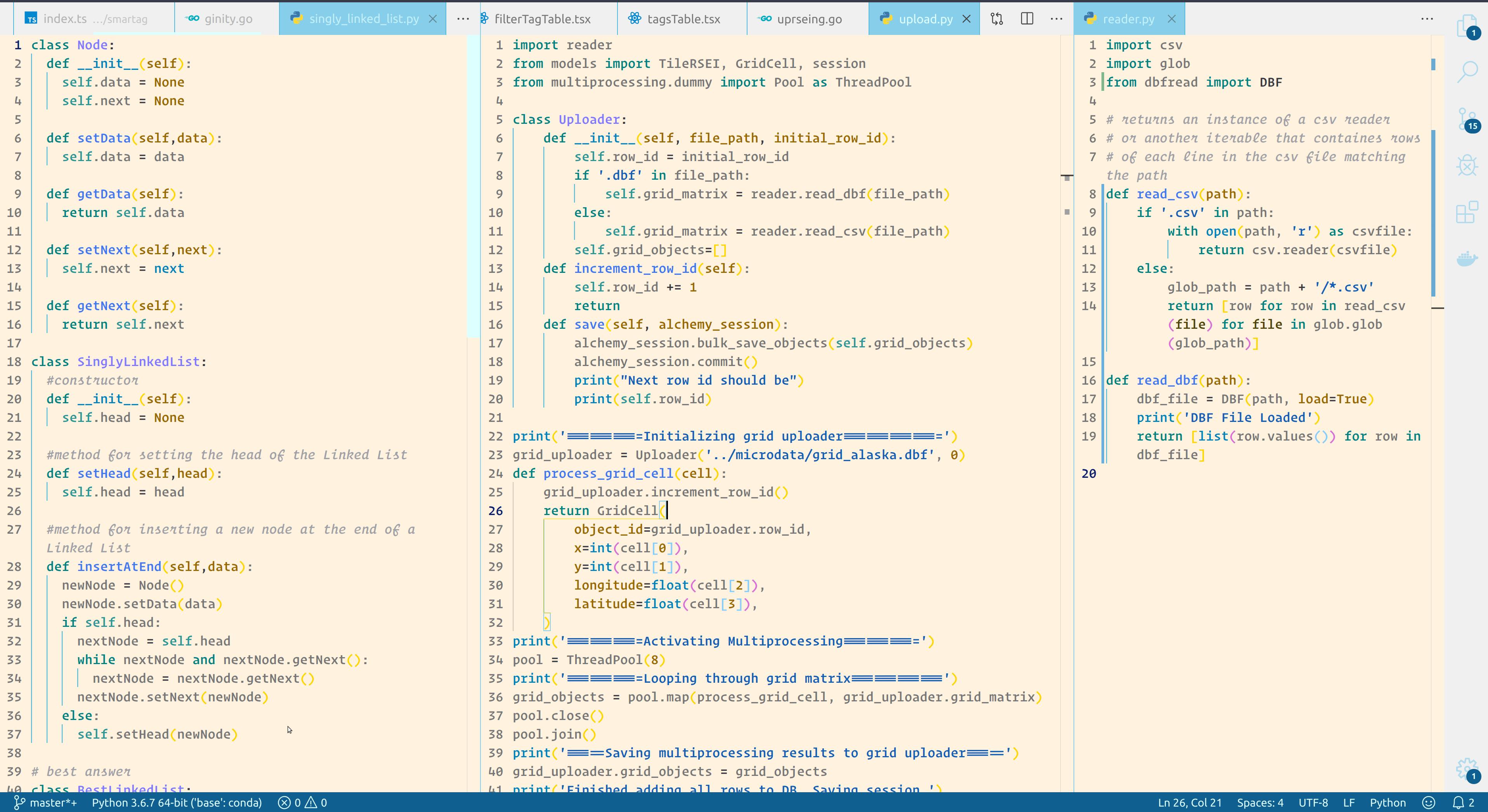 Thakker sky color light theme python coding programming scheme